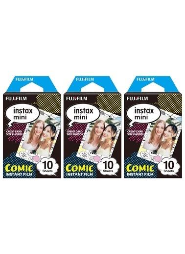Instax Instax Mini Comic 10X3 Film Seti Renkli